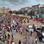 PTI Pakistan Zindabad Rally Karachi Picture