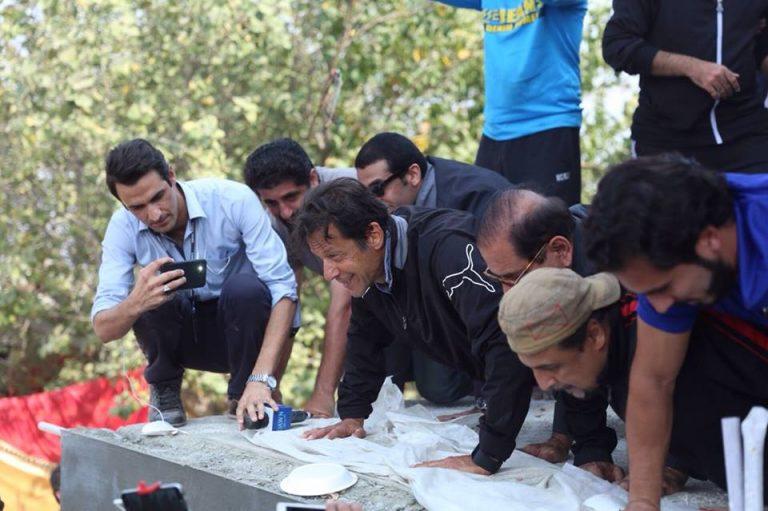 Imran Khan Push Ups Pics in Bani Gala Islamabad 2