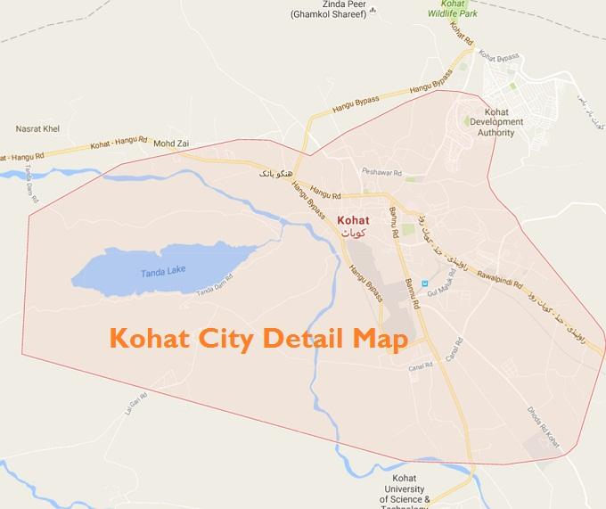 kohat-city-detail-map