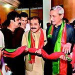 Malik Sarfaraz Khokhar and Malik Zaman Khokhar Join PTI in Lahore