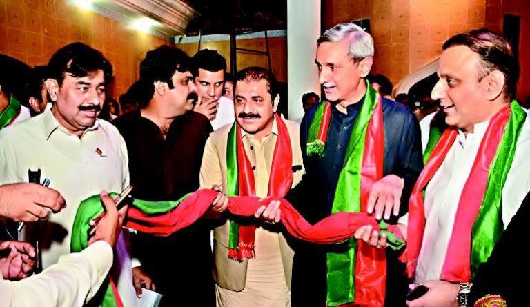 Malik Sarfaraz Khokhar and Malik Zaman Khokhar Join PTI in Lahore