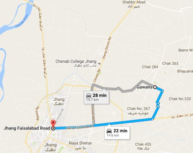 road-route-map-gawans-chak-no-265-jb-district-jhang