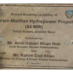 Swat Hydropower Project 2nd Inauguration by Imran Khan Today