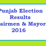 Punjab Faisalabad LB Election Result Final Phase - some districts