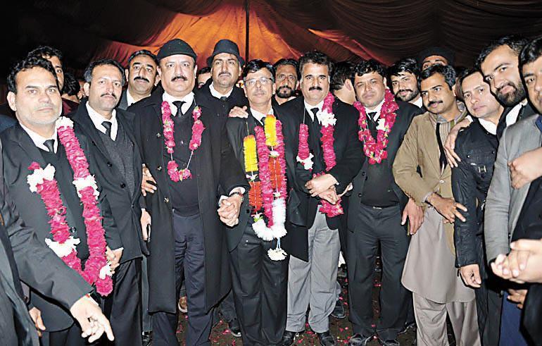 Naveed Malik President Islamabad Bar Election 2017 Elected on 14 Jan