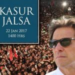 PTI Imran Khan Jalsa Kasur Today 21 Jan 2017