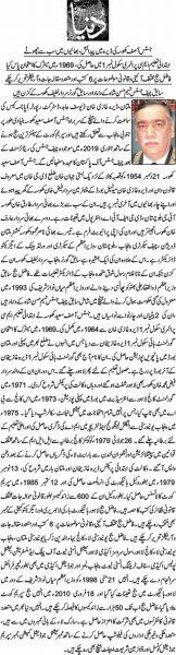 Justice Asif Saeed Khosa - Profile in Urdu