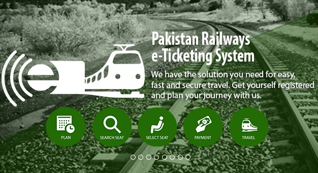 Pakistan Railways E-Ticketing System