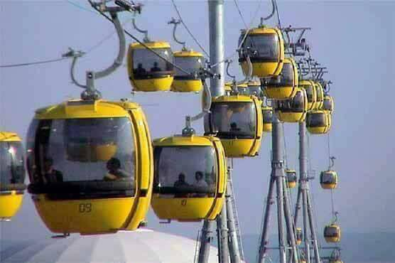 Rope Ways or Cable Cars Transport in Punjab