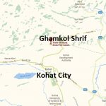Ghamkol Sharif Darbar Zinda Pir Kohat - Location Map From Kohat City, Dara Adamkhel, Hungu By pass, Kohat Bypass Road Route map