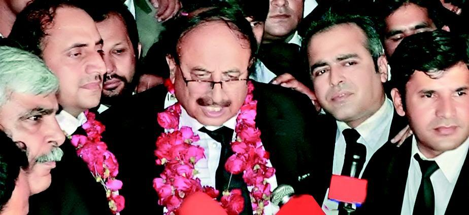 Supreme Court Bar Association New President Elected - Pir Kaleem Ahmad KHursheid