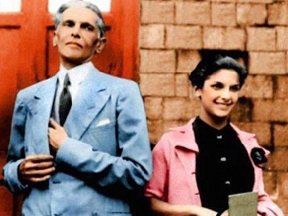 Dina Jinnah/Wadia and Quaid e Azam Muhammad Ali Jinnah Historical Pic