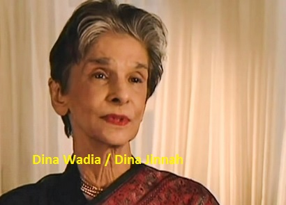 Dina Wadia - Dina Jinnah Daughter of Quaid e Azam