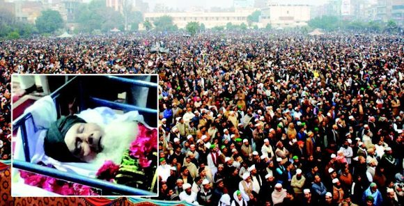 Mufti Muhammad Amin Namaz e Janaza in Faisalabad - Biggest in the History of City