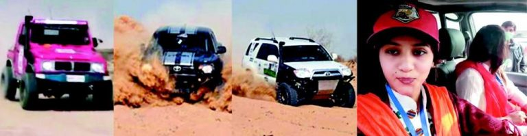 Cholisstan Jeep Rally 2018 Result - Momal Seed of Multan and Jeep Race Pics