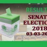 Result Senate Election 2018 Online Today - Party Position