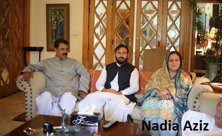 Sargodha PMLN MPA Dr Nadia Aziz Join PTI
