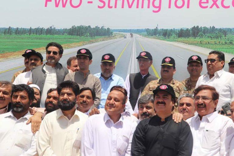 Swat Motorway Inauguration from Kernal Sher Khan Interchange to Katlang 50 KM Long part 1 of Swat Motorway