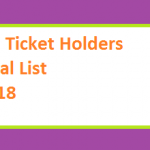PTI Ticket Holder Final List 2018 - Punjab, Sindh, KPK, Balochistan for MNA and MPA Seats Online