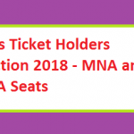 PTI's Ticket Holders Election 2018 - MNA and MPA Seats