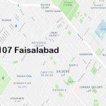 NA 107 Faisalabad Google Area Location Map Election 2018 National Assembly constituency (Halqa)-min