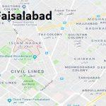NA 110 Faisalabad Google Area Location Map Election 2018 National Assembly constituency (Halqa)-min