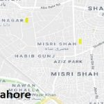 NA 124 Lahore Google Area Location Map Election 2018 National Assembly constituency (Halqa)-min
