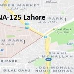 NA 125 Lahore Google Area Locaiton Map Election 2018 National Assembly constituency (Halqa)-min