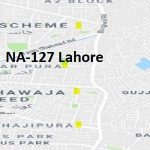 NA 127 Lahore Google Area Location Map Election 2018 National Assembly constituency (Halqa)-min