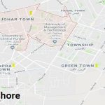 NA 134 Lahore Google Area Location Map Election 2018 National Assembly constituency (Halqa)-min