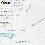 NA 140 Kasur Google Area Location Map Election 2018 National Assembly constituency (Halqa)-min
