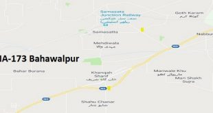 NA 173 Bahawalpur Google Area Location Map Election 2018 National Assembly constituency (Halqa)-min