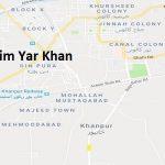NA 176 Rahim Yar Khan Google Area Location Map Election 2018 National Assembly constituency (Halqa)-min