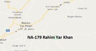 NA 179 Rahim Yar Khan Google Area Location Map Election 2018 National Assembly constituency (Halqa)-min