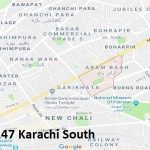 NA 247 Karachi South Google Area Location Map Election 2018 National Assembly constituency (Halqa)-min
