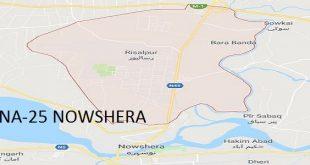 NA-25 Nowshera Google Area Locaton Map Election 2018 National Assembly Constituency (Halqa)-min