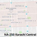 NA 253 Karachi Central Google Area Location Map Election 2018 National Assembly constituency (Halqa)-min