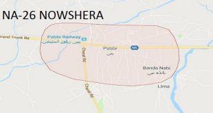 NA-26 Nowshera Google Area Locaton Map Election 2018 National Assembly Constituency (Halqa)-min