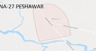 NA-27 Peshawar Google Area Locaton Map Election 2018 National Assembly Constituency (Halqa)-min