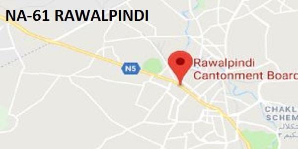 NA 61 Rawalpindi Google Area Location Map Election 2018 National Assembly Constituency (Halqa)-min