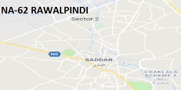 NA 62 Rawalpindi Area Google Area Location Map Election 2018 National Assembly Constituency (Halqa)-min