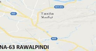 NA 63 Rawalpindi Google Area Location Map Election 2018 National Assembly Constituency (Halqa)-min