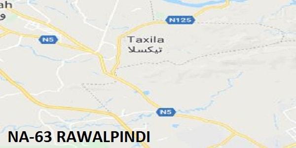 NA 63 Rawalpindi Google Area Location Map Election 2018 National Assembly Constituency (Halqa)-min