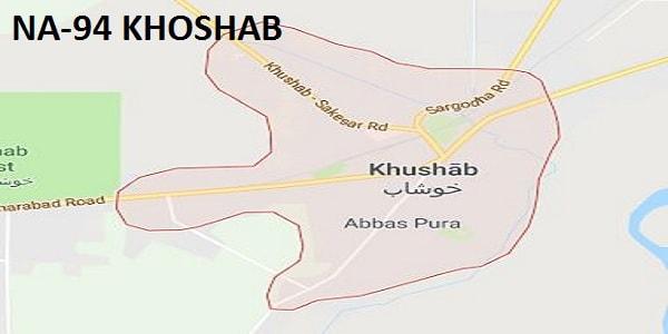 NA 94 Khoshab Google Area Location Map Election 2018 National Assembly constituency (Halqa)-min