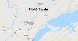 PK 43 Swabi Google Area Location Map Election 2018 KPK Assembly constituency (Halqa)-min