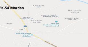 PK 54 Mardan Google Area Location Map Election 2018 KPK Assembly constituency (Halqa)-min