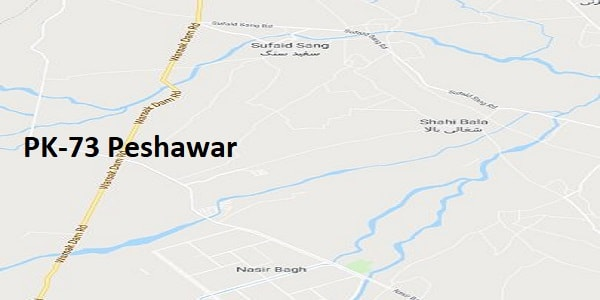 PK 73 Peshawar Google Area Location Map Election 2018 KPK Assembly constituency (Halqa)-min
