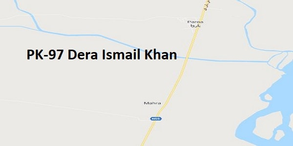 PK 97 Dera Ismail Khan Google Area Location Map Election 2018 KPK Assembly constituency (Halqa)-min