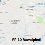 PP 10 Rawalpindi Google Area Location Map Election 2018 Punjab Assembly constituency (Halqa)-min