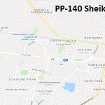 PP 140 Sheikhupura Google Area Location Map Election 2018 Punjab Assembly constituency (Halqa)-min